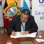 UTEG firma convenio con Misión Alianza de Noruega